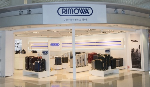 Rimowa store Hong Kong International Airport.