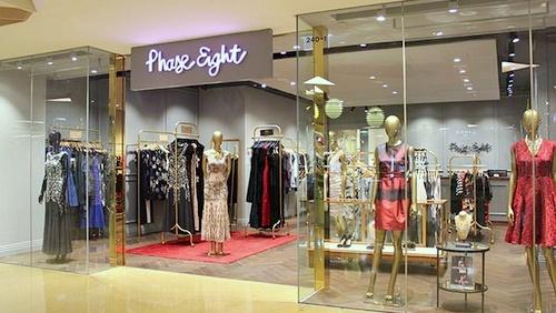 Phase Eight clothing store City Plaza Hong Kong.