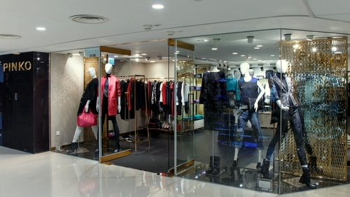 PINKO clothing store Harbour City Hong Kong.