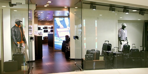 Porsche Design shop Harbour City Hong Kong.
