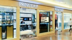 Prince Jewellery & Watch store Harbour City Hong Kong.