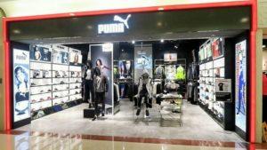 PUMA store Plaza Hollywood Hong Kong.