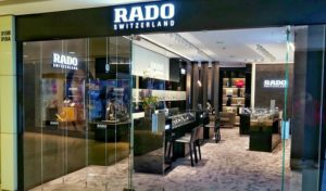 RADO watch store Harbour City Hong Kong.