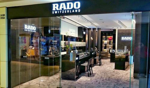 RADO watch store Harbour City Hong Kong.