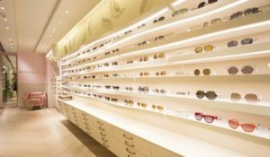 Reflections optical store Harbour City Hong Kong.