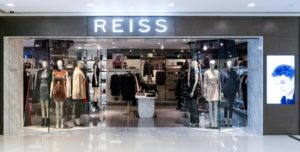 Reiss clothing store Harbour City Hong Kong.