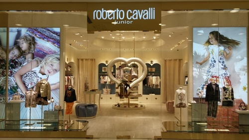 Roberto Cavalli Junior children's clothing store Harbour City Hong Kong.