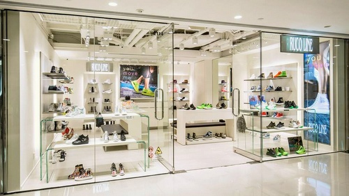 Ruco Line shoe and bag store Harbour City Hong Kong.