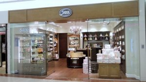 Sabon shop Plaza Hollywood Hong Kong.