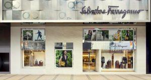 Salvatore Ferragamo shop Ocean Centre Harbour City Hong Kong.
