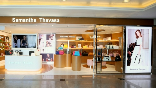 Samantha Thavasa bag store Harbour City Hong Kong.