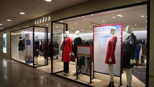 Sandro clothing shop Harbour City Hong Kong.