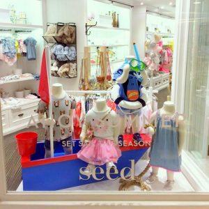 Seed Heritage children's clothing shop MOKO Hong Kong.