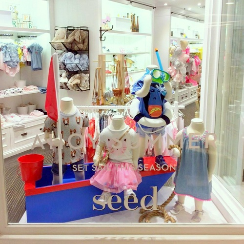Seed Heritage children's clothing shop MOKO Hong Kong.