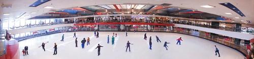 Cityplaza Ice Palace skating rink Hong Kong.