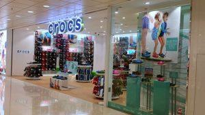 Crocs shoe shop Hong Kong.