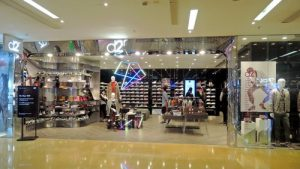 d2r clothing shop Cityplaza shopping centre Hong Kong.