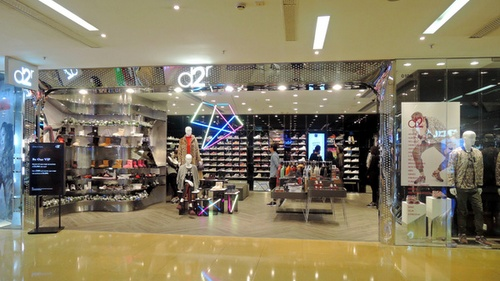 d2r clothing shop Cityplaza shopping centre Hong Kong.