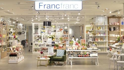 Francfranc store Cityplaza Hong Kong.