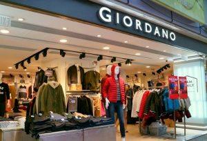 Giordano clothing store Whampoa Gardens Hong Kong.
