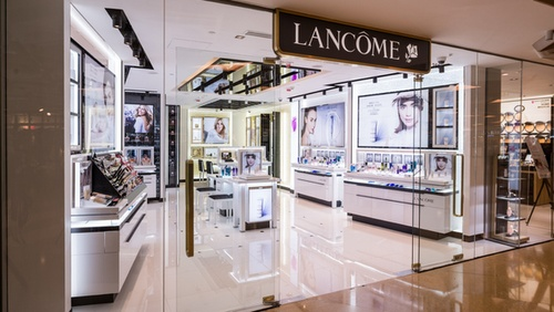 Lancôme beauty shop Cityplaza Hong Kong.