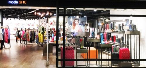 moda SHU shop MOKO Hong Kong.