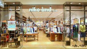 niko and ... clothing and home decor store Cityplaza Hong Kong.