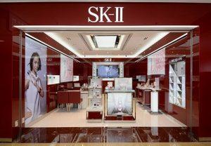 SK-II cosmetics store Hong Kong.