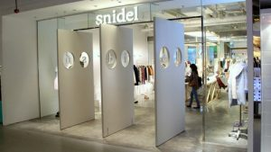 snidel clothing shop Harbour City Hong Kong.