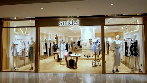 snidel clothing store New Town Plaza Hong Kong.