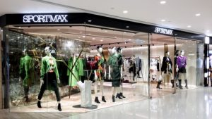 Sportmax clothing shop Harbour City Hong Kong.