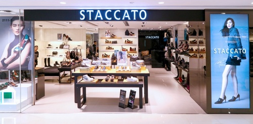 Staccato shoe store Harbour City Hong Kong.