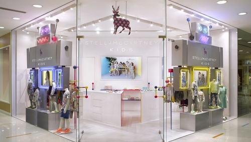 Stella McCartney Kids clothing shop Harbour City Hong Kong.
