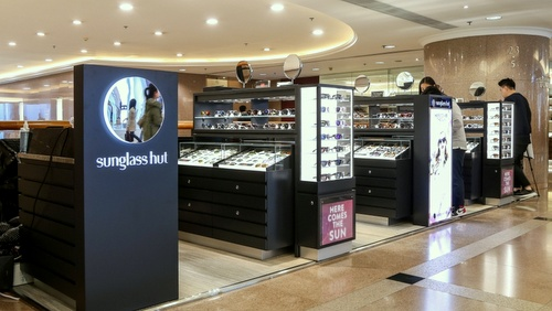 Sunglass Hut store Harbour City Hong Kong.