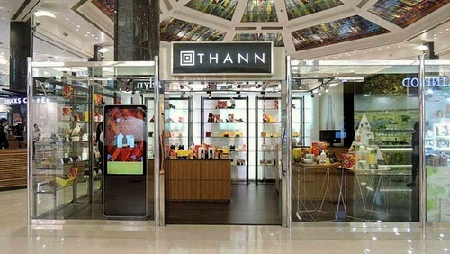 THANN beauty store Plaza Hollywood Hong Kong.