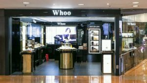 The History of Whoo Beauty Store Harbour City Hong Kong.