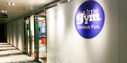 The Little Gym centre Harbour City Hong Kong.