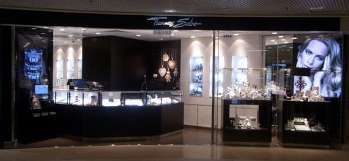 Thomas Sabo jewellery shop Harbour City Hong Kong.