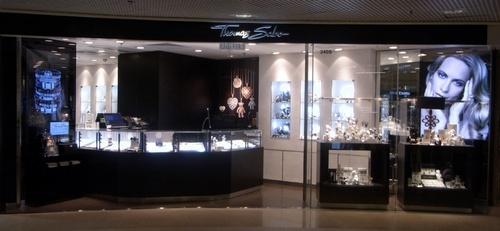 Thomas Sabo jewellery shop Harbour City Hong Kong.
