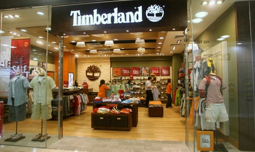 Timberland store Harbour City Hong Kong.