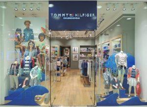 Tommy Hilfiger childrenswear shop Harbour City Hong Kong.
