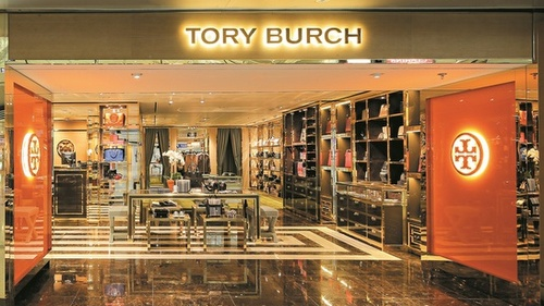 Tory Burch clothing store Hong Kong International Airport.