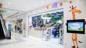 """Toys """"R"""" Us toy store Harbour City Hong Kong."""