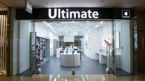 Ultimate PC & Mac Gallery store Cityplaza Hong Kong.