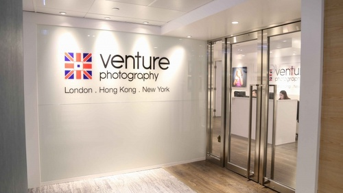 Venture Photography studio Harbour City Hong Kong.