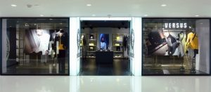 Versus Versace clothing store Harbour City Hong Kong.