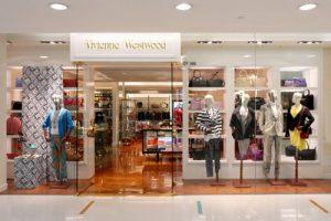 Vivienne Westwood clothing shop Harbour City Hong Kong.