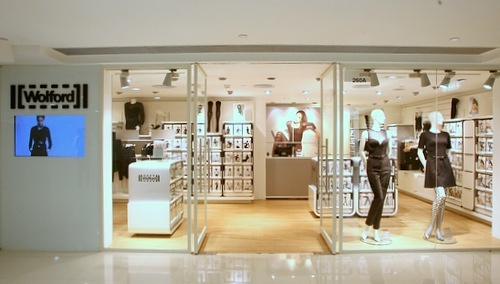Wolford shop Harbour City Hong Kong.