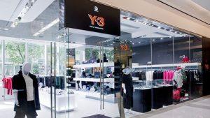 Y-3 clothing shop K11 Hong Kong.