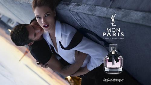 YSL Beauté Paris perfume Hong Kong.